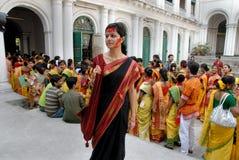 Festival indù dei colori Immagini Stock Libere da Diritti