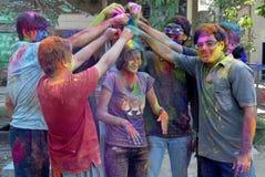 Festival indù dei colori Immagine Stock Libera da Diritti