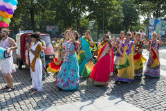 Festival of Indian Culture 2015 Royalty Free Stock Photography