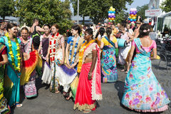 Festival of Indian Culture 2015 Royalty Free Stock Images