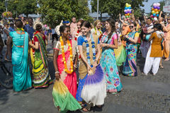 Festival of Indian Culture 2015 Stock Images