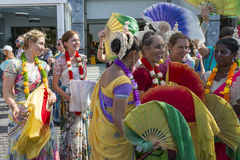 Festival of Indian Culture 2015 Royalty Free Stock Photos
