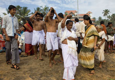 Festival indiano para comemorar os mortos Fotos de Stock
