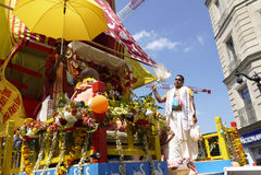 Festival indiano, Ratha Yatra Fotografia de Stock Royalty Free