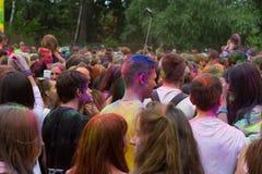Festival indien de couleurs Photo stock