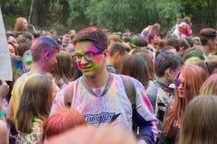 Festival indien de couleurs Images stock