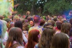 Festival indien de couleurs Photographie stock libre de droits