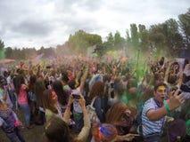 Festival indien de couleurs Image libre de droits