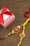 Festival indien : Raksha Bandhan, Rakhi Photo libre de droits