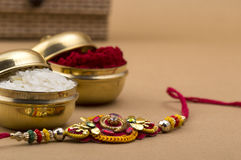 Festival indien : Raksha Bandhan, Rakhi Photo stock