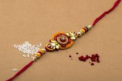Festival indien : Raksha Bandhan, Rakhi Photographie stock