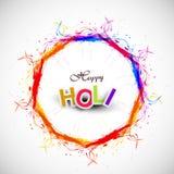 Festival indio colorido del círculo hermoso del grunge ilustración del vector