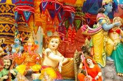 Festival indio del deepavali Fotos de archivo