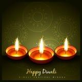 Festival indio del diwali ilustración del vector