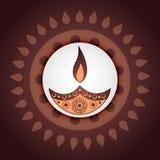 Festival indio del diwali libre illustration