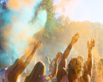 Festival indou de couleur de Holi Photos libres de droits
