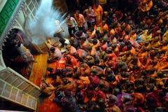 Festival indou de couleurs Photo libre de droits