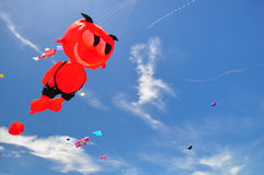 Festival internacional 2012 do papagaio de Tailândia Imagens de Stock Royalty Free