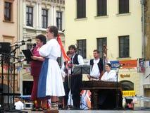 Festival internacional CIOFF do folclore Fotos de Stock Royalty Free