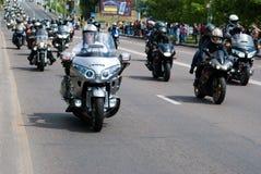 Festival internacional de motoristas Imagen de archivo libre de regalías
