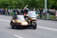 Festival internacional de motoristas Imagenes de archivo