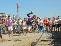 Festival internacional 2015 de Tchoukball de la playa Imagenes de archivo