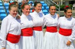 Festival internacional del folclore, Zagreb 2015 5 Foto de archivo