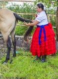 Festival internacional del Mariachi y de Charros Foto de archivo libre de regalías