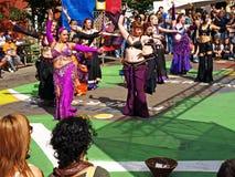 Festival internacional del teatro de la franja de Edmonton. Fotografía de archivo libre de regalías
