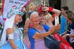 Festival internacional do folclore, 2017 , Zagreb, Croácia, 79 Fotos de Stock Royalty Free