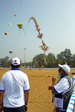 Festival internacional 17 do papagaio de Goa Imagem de Stock