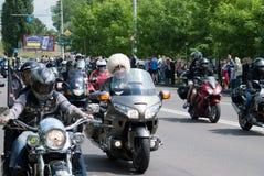 Festival internacional dos motociclistas Fotos de Stock