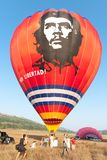 Festival internacional Montgolfeerie del globo imágenes de archivo libres de regalías