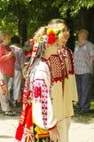 Festival international CIOFF - défilé 2016 de folklore Photo libre de droits