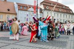 Festival international de théâtre de rue Photos libres de droits