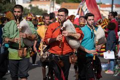Festival international ib?rique 2019 de Costums images stock