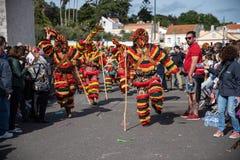 Festival international ib?rique 2019 de Costums photographie stock libre de droits
