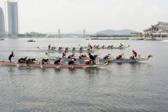 festival internazionale 2010 della barca del drago 1Malaysia Fotografie Stock Libere da Diritti