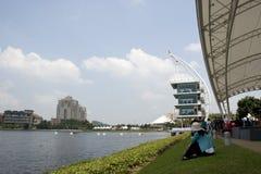 festival internazionale 2010 della barca del drago 1Malaysia Immagini Stock Libere da Diritti