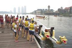 festival internazionale 2010 della barca del drago 1Malaysia Fotografie Stock