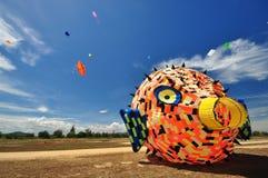 Festival internazionale 2012 del cervo volante della Tailandia Immagini Stock