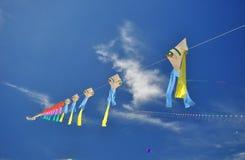 Festival internazionale 2012 del cervo volante della Tailandia Fotografie Stock Libere da Diritti
