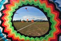 Festival internazionale 2012 del cervo volante della Tailandia Fotografia Stock