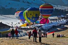 Festival internazionale annuale dell'aerostato di aria calda Fotografie Stock Libere da Diritti