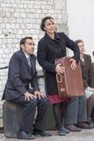 Festival internazionale dei teatri ULICA della via in Cracow_Kamchatka, Spagna fotografia stock