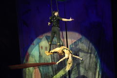 Festival internazionale del circo Fotografia Stock Libera da Diritti