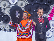 Festival internazionale di Charros & dei mariachi Fotografia Stock
