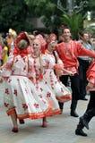 Festival internazionale di folclore Fotografie Stock