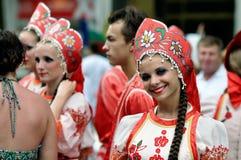Festival internazionale di folclore Fotografia Stock Libera da Diritti