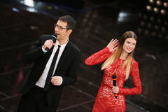 Festival of the Italian Song, Sanremo 2013 Stock Photography